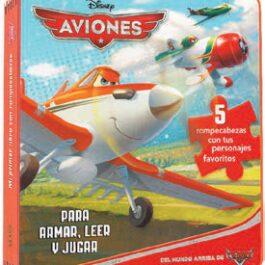 Disney Aviones. Rompecabezas en Goma Eva