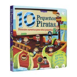 10 Pequeños Piratas. Diversión Numérica