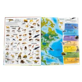 Atlas Mundial de Dinosaurios y Otros Animales